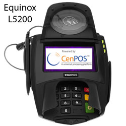 equinox L5200 signature capture terminal