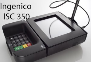 ingenico isc350 signature capture