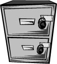 locked file stored card data