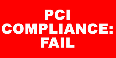pci compliance fail