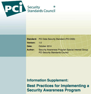 pci security awareness guide