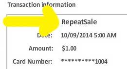 tokenization for credit card sale cenpos