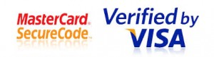 verified visa mastercard secure code combo logo