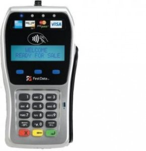 First Data FD35 EMV pin pad terminal