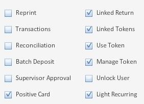 token billing roles