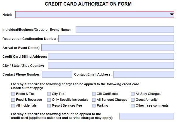 Credit Card Transaction Authorization Number | Infocard.Co