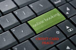 online booking credit card fraud